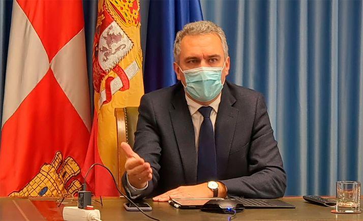 Javier Izquierdo, delegado gubernamental en CyL.