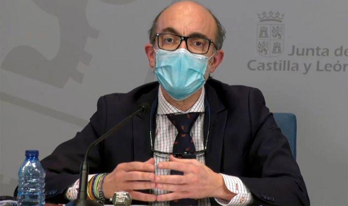 Javier Ortega, consejero de Cultura, este jueves en comparecencia de prensa. /Jta.