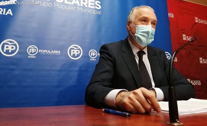 Javier Muñoz Remacha, concejal del PP en el Consistorio de la capital. /SN
