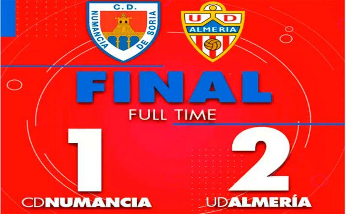 Foto 2 - CD Numancia-UD Almería: 1-2