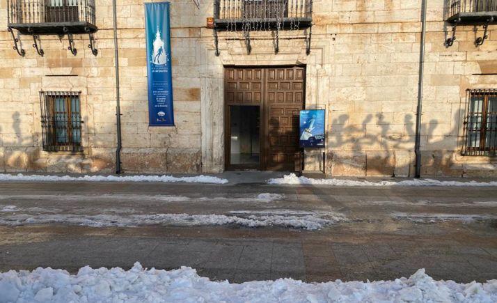 Imagen del exterior de la oficina burgense, la de mayor número de visitas atendidas.