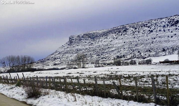 Una imagen del Pico Frentes hoy. /SN