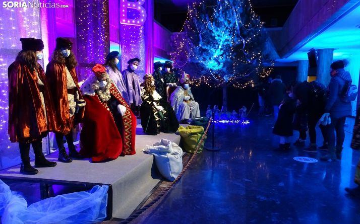 Los Reyes, en su última recepción en la capital. /SN
