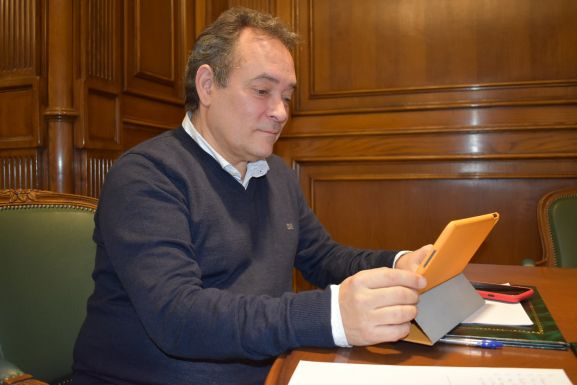 Foto 1 - Ciudadanos destina su asignación en Diputación a donar mascarillas compradas en Soria