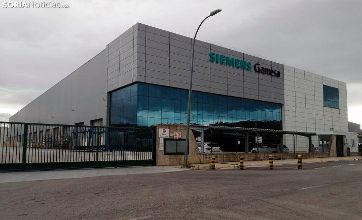 Imagen de la planta que la compañía tiene en Ágreda. /SN