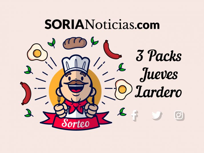 Soria Noticias sortea 3 packs para celebrar el Jueves Lardero