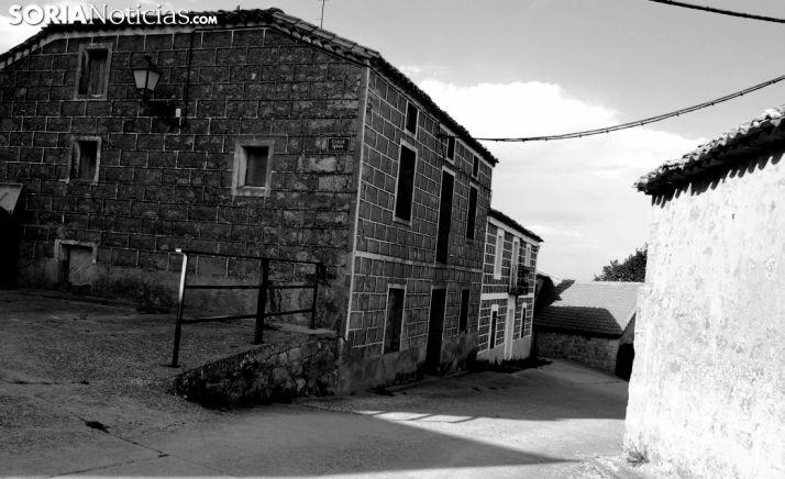 Una imagen del una calle en Tardajos de Duero. /SN