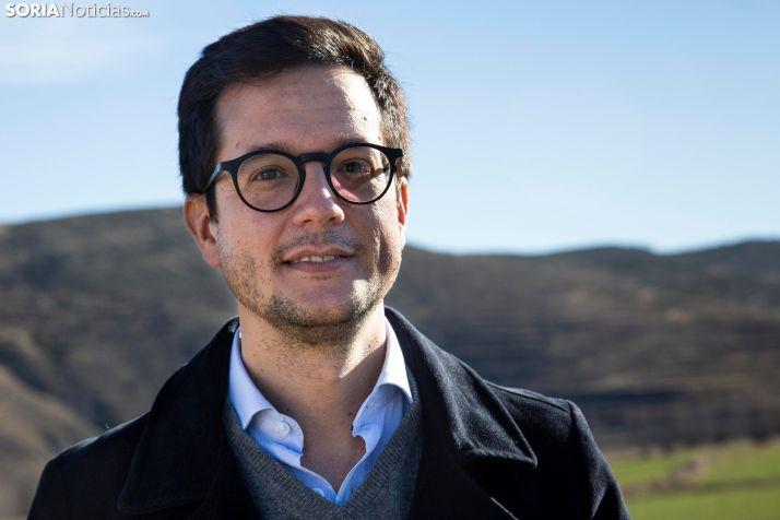Tomás Cabezón, presidente de la Mancomunidad de Tierras Altas.