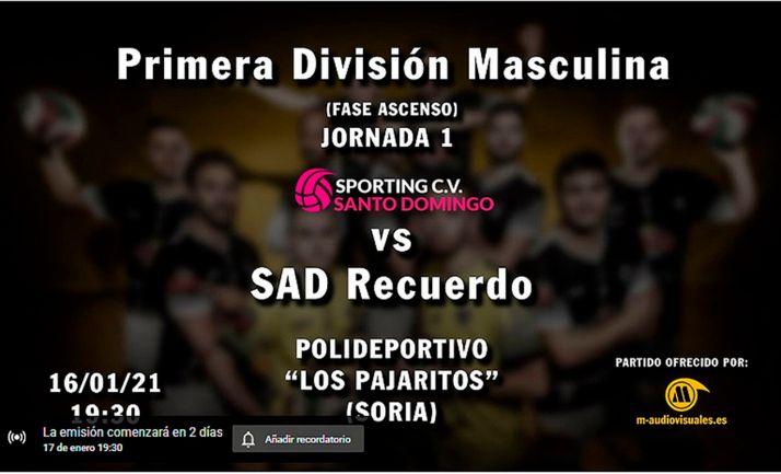 El Moreno Sáez Sporting arranca el sábado la segunda fase de la competición liguera
