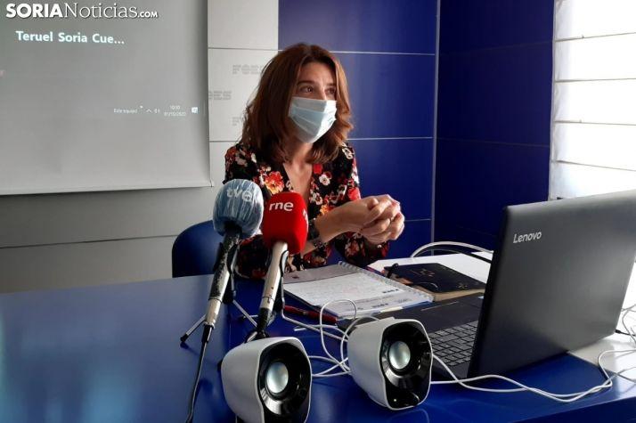 Marina Fernández en una imágen de archivo.