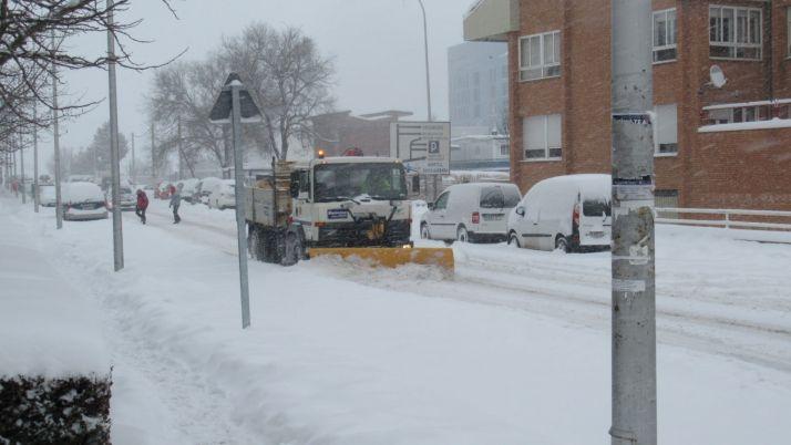 La nevada complica la situación en Soria.