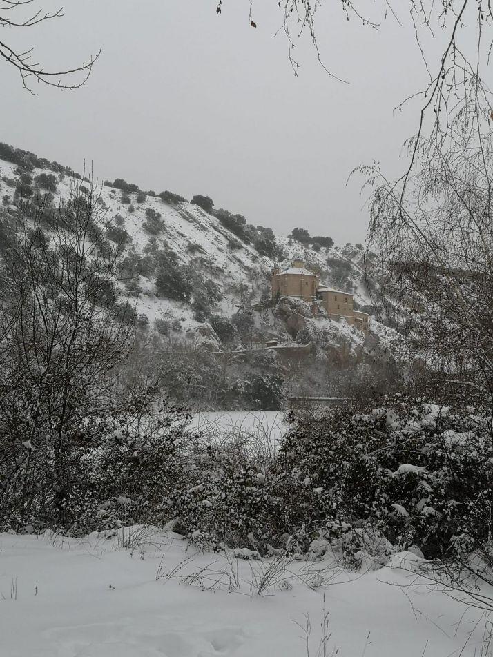 Foto 2 - Galería: Un paseo blanco por la ciudad de Soria