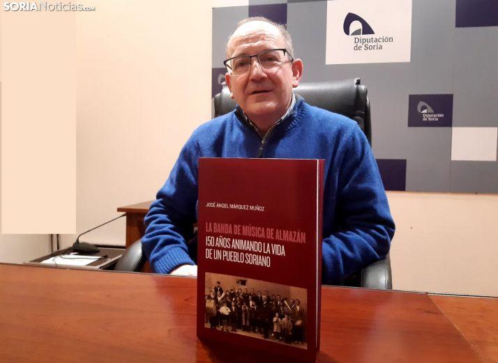 José Ángel Márquez Muñoz y su nuevo trabajo.