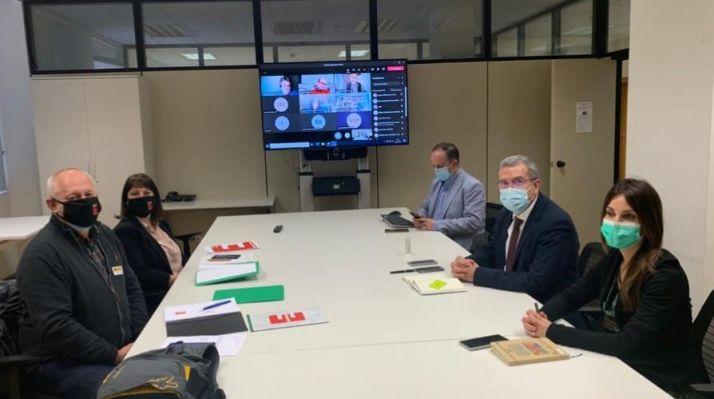 Imagen de la reunión en Madrid.