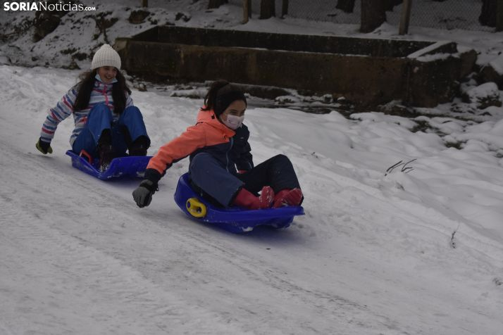 Nieve en Covaleda.