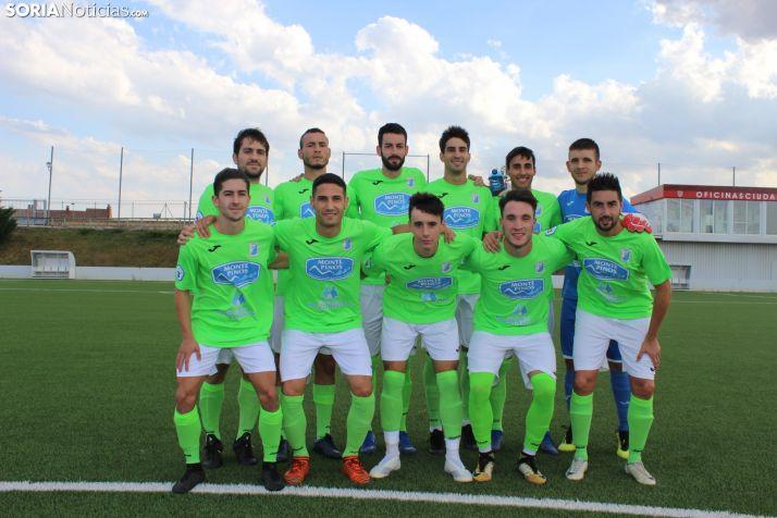 Foto 1 - El Almazán empata con el Real Burgos (0-0)