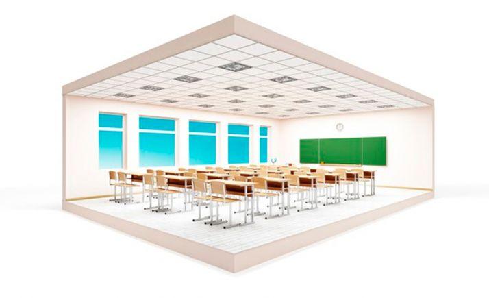 Foto 1 - CSIF sigue pidiendo que se instalen purificadores de aire en las aulas escolares