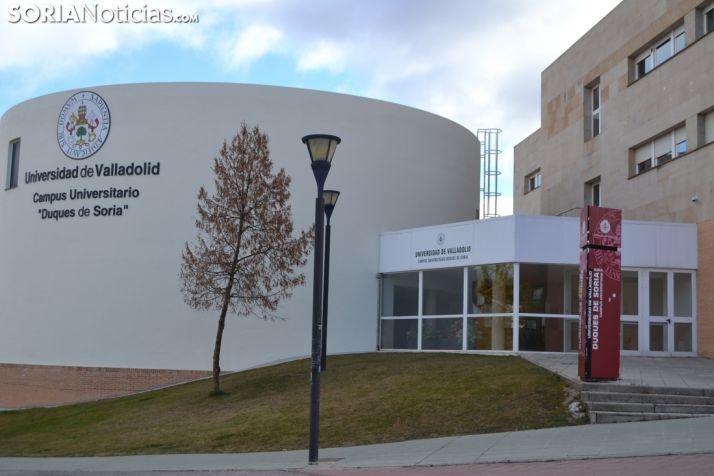 Foto 1 - La Universidad de Valladolid mantiene su actividad lectiva presencial
