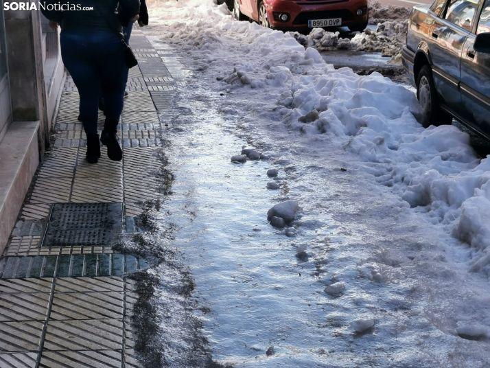 Foto 2 - La nevada de la ciudad de Soria en 50 imágenes, una semana después