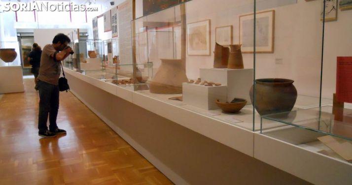 Una de las salas del Museo Numantino, dependiente de la Junta. /SN