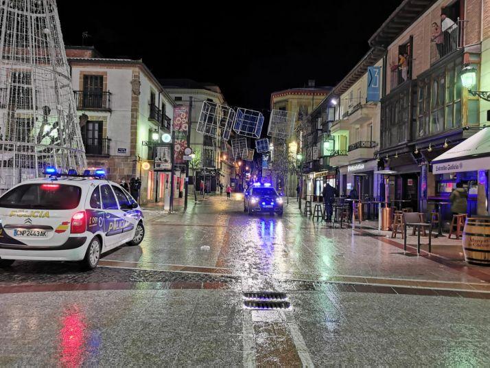 Foto 1 - Nueve denuncias en Soria, en la primera noche con el toque de queda a las 20:00