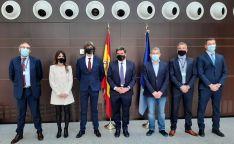 Una imagen de la visita oficial. /MTERD