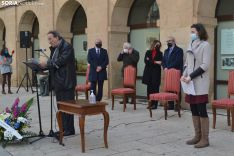 Una imagen de la celebración del 82 aniversario del fallecimiento del poeta. /SN