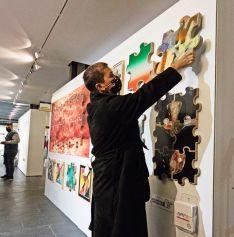 Infinity Art expone en El Casino de Soria obras de arte interactivas como una nueva forma de coleccionismo