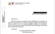 El Procurador del Común admite a trámite la quejas por el servicio del centro Rosa León