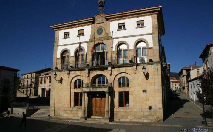 Ayuntamiento de Covaleda en una imagen de archivo.