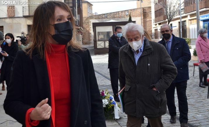 Rocío Lucas destaca que la obra de Machado es 'una llamada a nuestra conciencia'