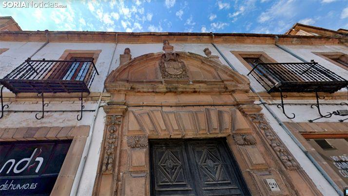 Una imagen de la fachada principal del edificio. /GM