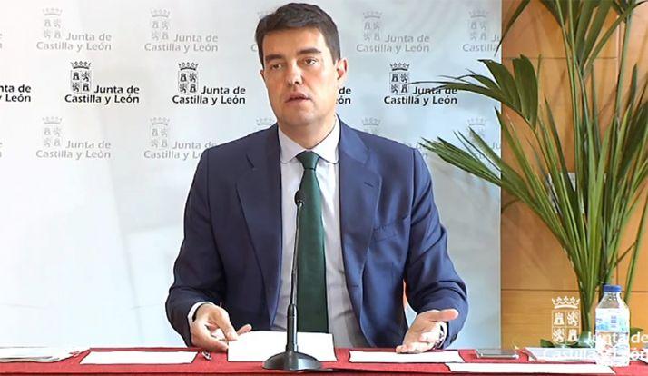 Ángel Ibáñez, consejero de Presidencia.