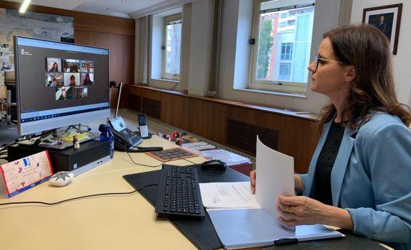 Carlota Amigo en una imagen de archivo.