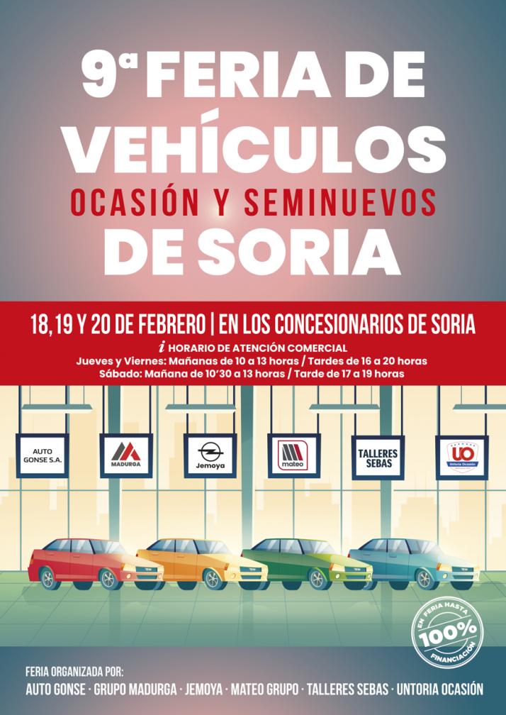 Foto 1 - La IX Feria de Vehículos de Ocasión y Seminuevos de Soria se celebrará del 18 al 20 de febrero