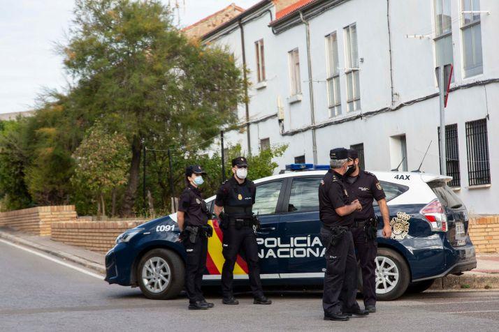 Agentes de la Policia Nacional en una imagen de archivo.