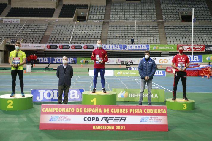 Imagen de un podium. /RFEA