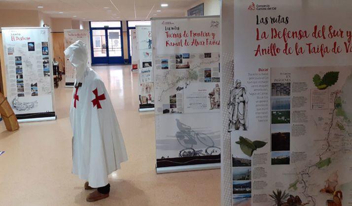 Foto 1 - La exposición del Camino del Cid llega a Escolapios