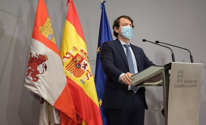 El presidente de la Junta, en una reciente convocatoria informativa. /Jta.