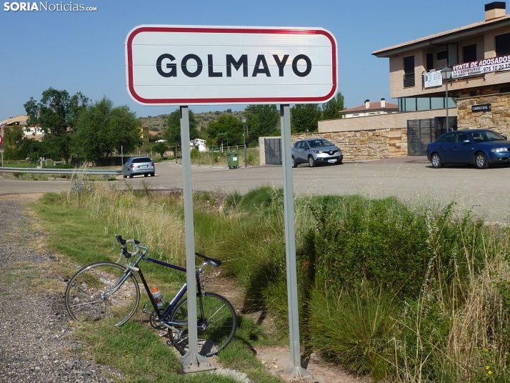 Entrada a Golmayo.