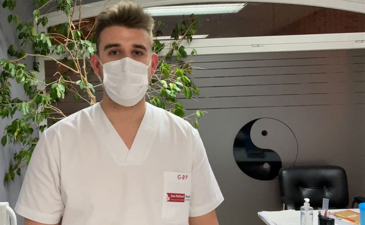 Guillermo Blasco, nuevo fisioterapeuta para el club amarillo. /BMS