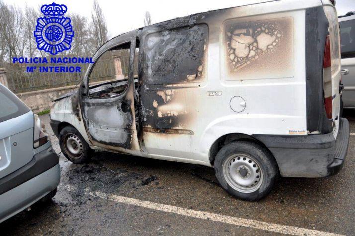 Imagen facilitada por la Policía Nacional de Aranda.