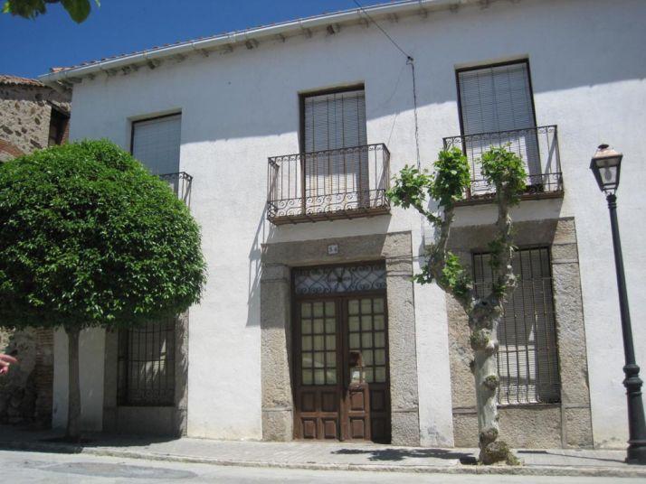 Casa de Adolfo Suárez en Cebreros.