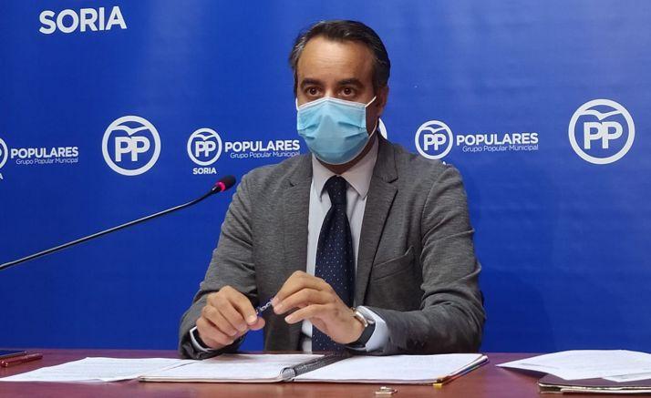 Ignacio Soria, concejal popular en el Consistorio de la ciudad.