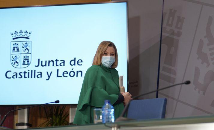 Isabel Blanco, consejera de Familia e Igualdad este lunes. /Jta.