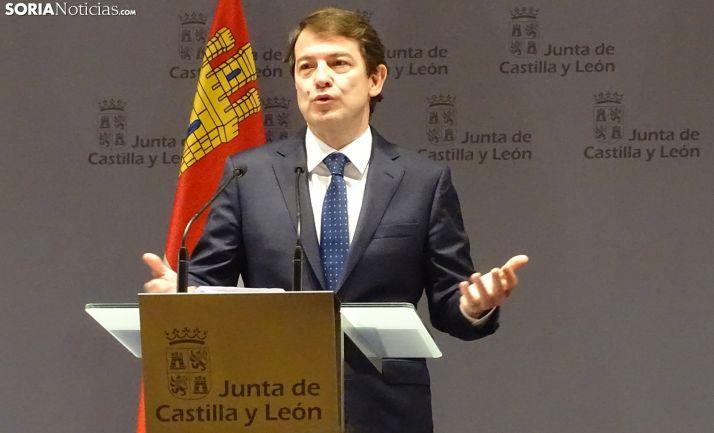 Alfonso Fernández Mañueco en una imagen de archivo.