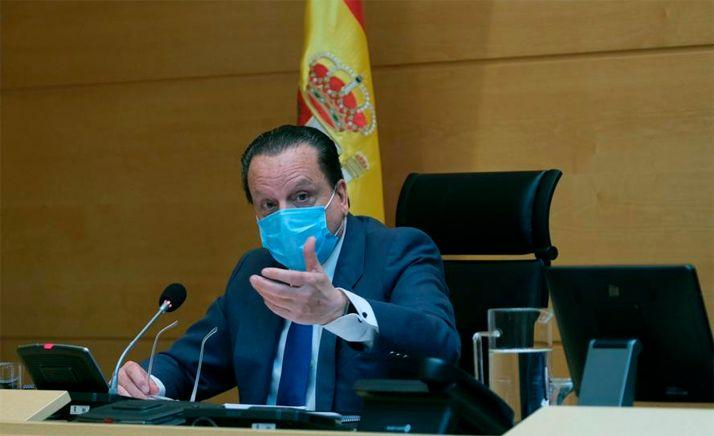 El presidente del Consejo Consultivo, Mario Amilivia.