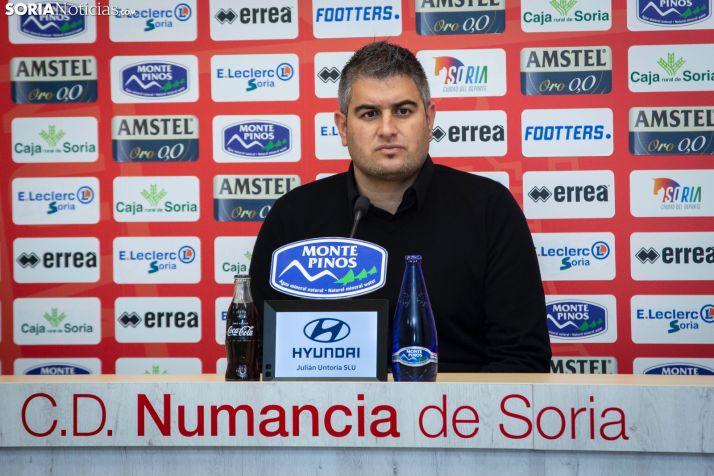 Foto 1 - El Numancia viaja a Asturias sin margen de error