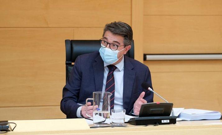 Jesús Peregrina, secretario del PP soriano.