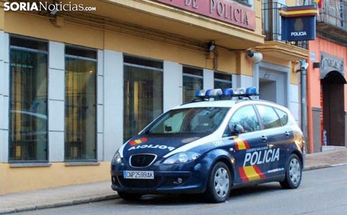 Comisaría de la Policía Nacional en Soria.
